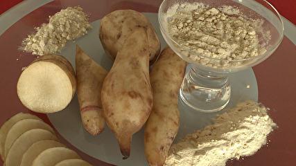 G1 - Batata yacon é boa para intestino, colesterol e glicose, diz nutricionista - notícias em Minas Gerais