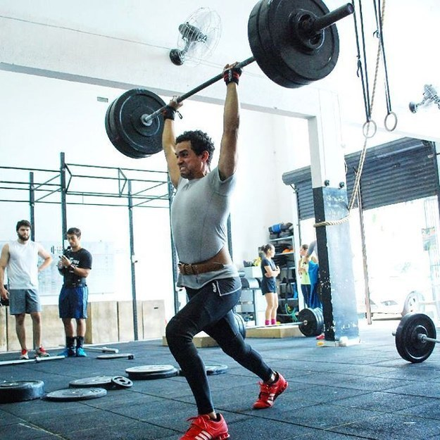 O levantamento fitness: