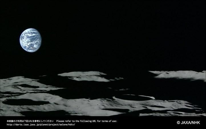 O nascer da Terra visto da Lua é impressionante